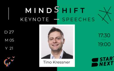 MindShift mit Tino Kressner, Co-Founder der Plattform Startnext.com