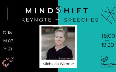 MindShift mit Michaela Wenner, Gründerin & Frohgeist des FORMEN+NORMEN Designstudios